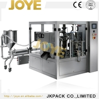 Durable Fruit Juice Bag-Given Filling-Closing-Sealing Tray Packaging Machine