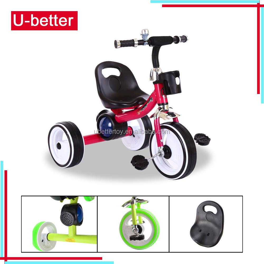 hot selling kids tricycle with light music for baby made in china