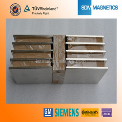 TS/ISO certifiated strong Block Magnet for permanent magnet motor