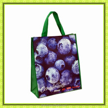 OEM full color laminated pp woven shopping bag