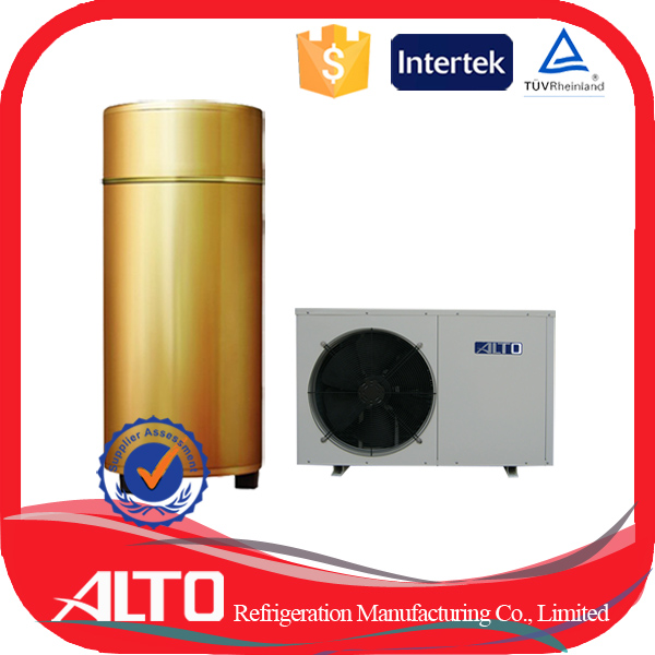 Alto SHW-200 quality certified electrical domestic hot water heat pump solar energy capacity 20kw/h air heat pump water heater