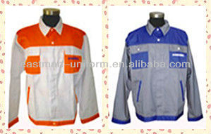 Men Work Jacket for Industry,OEM Cheap Workwear with Classcial Design