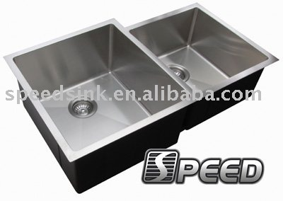 European Style Stainless Steel Double Bowl Kitchen equiment sink