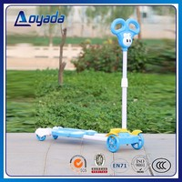 2016 Fun Toys Cheap 4 Wheel Kids Kick Mini Scooter,Cheap Kids Scooter newest design cartoon Scooters