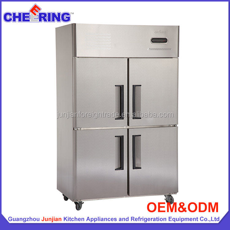 frezer freezer 4 doors chiller freezer double temperature freezer