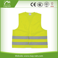 cheap and good quality high visibility reflective vest/safty mesh jacket for work wear
