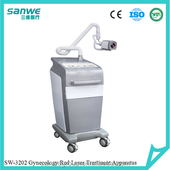 SW-3202 Multi-function Vaginal Treatment Machine, Gynecology Disease Treatment, Women Disease Treatment with Red Laser