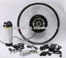 Rear/front wheel 36v 350w direct drive hub motor electric bike conversion with pack battery