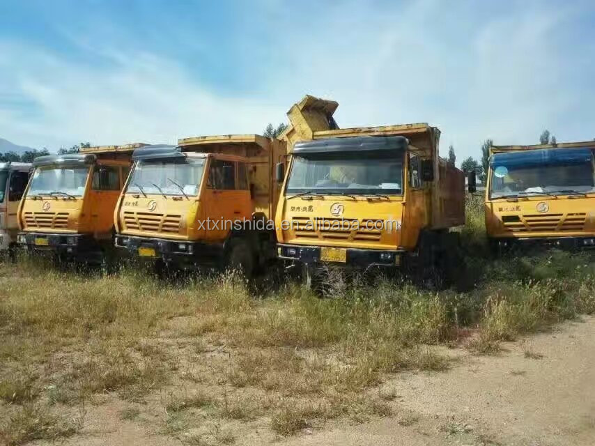 Used Chinese Shacman Aolong 340HP Dump Truck for sale