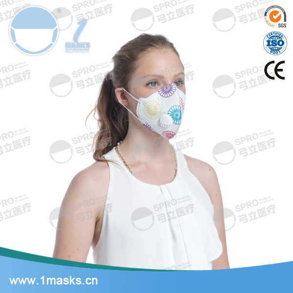 Top selling non-woven custom printed disposable nose dust mask