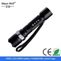 Keen New Power Chinese New zoom cree led torch light Manufacturer