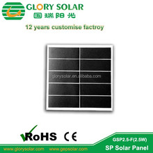 Customized Flexible 5V 500Ma Mini Solar Panel 5V 6V For LED Light