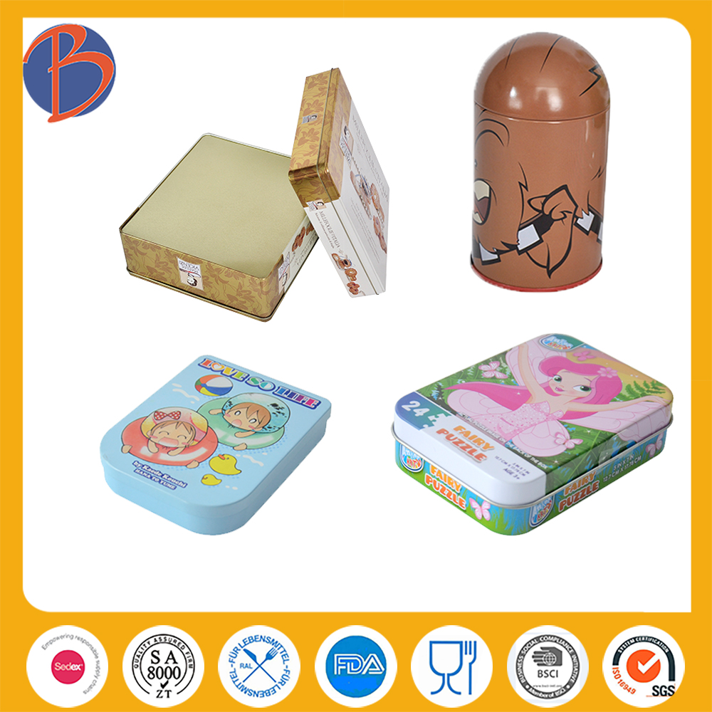 Cheap New Arrival Wedding Favor Gift Tin Box