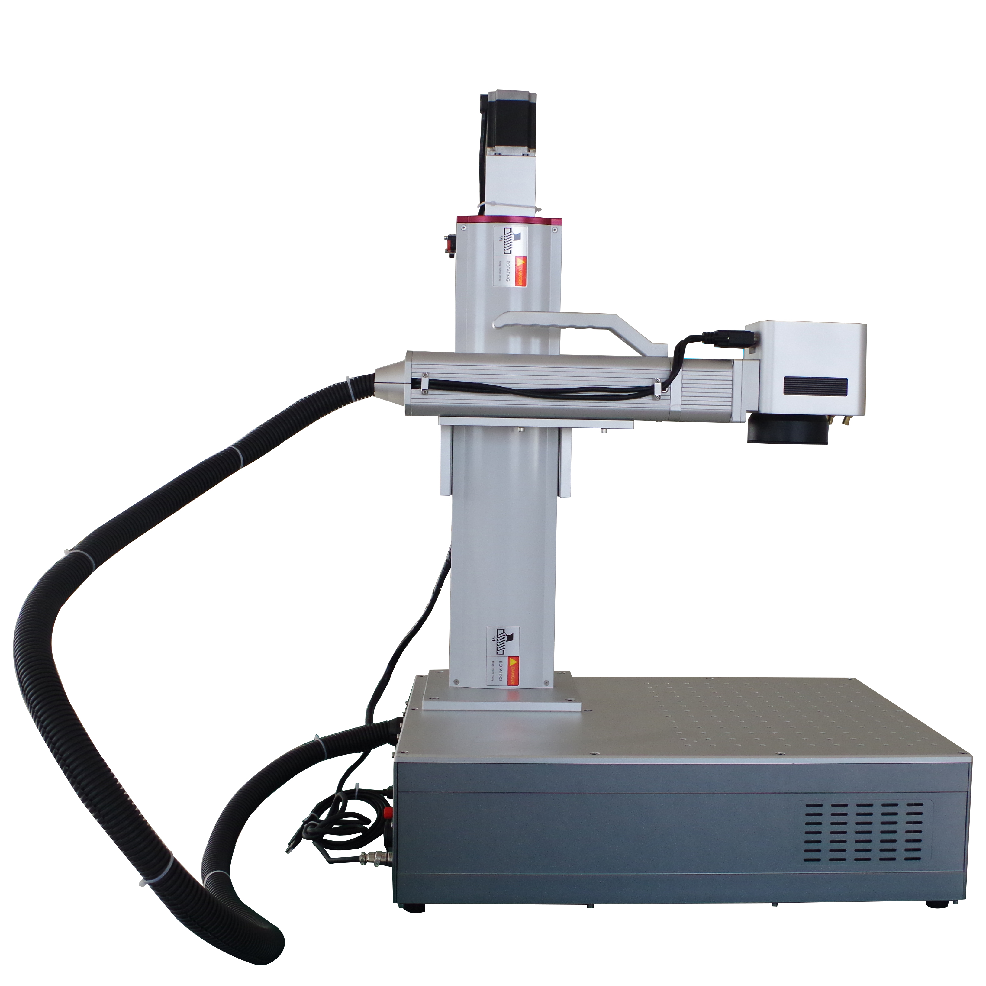 Motorized <strong>Z</strong> axis laser marking machine with 30w laser power