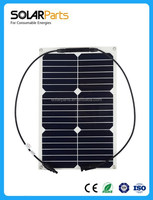 flexible amorphous silicone solar panel flexible waterproof 20w