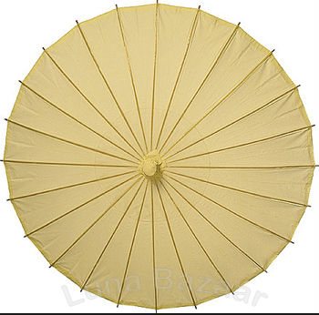 2014 new product wedding favor paper umbrella