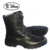 Men's 8'' Inch Military Tactical Boots Full Grain Leather Police Duty Water Resistant Boots With Side Zipper