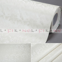 interior decoration white embossed vinyl wallpapers/wall coating