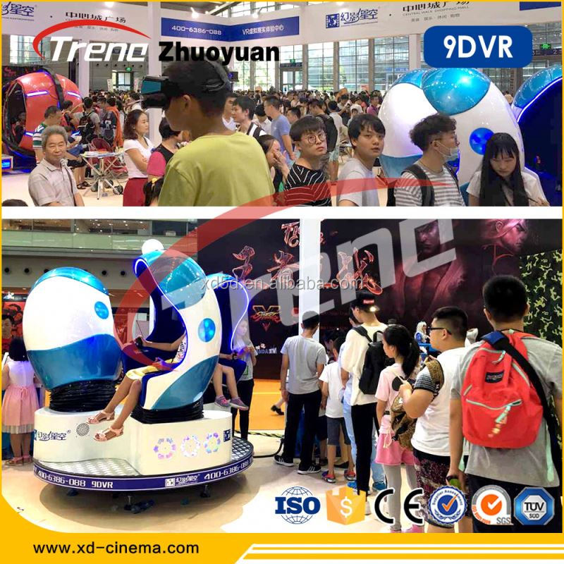 Zhuoyuan virtual reality simulation rider 5d movie theater