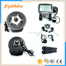 Top selling 36V 350W mid drive electric bicycle conversion kit