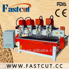 factory price on sale Decoration art craft industry 3D scanner dust collector multi-spindle cnc mill 1823-4