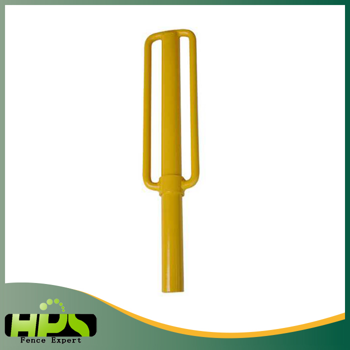 China Supplier Electric fence star picket steel post driver for goat farm equipment