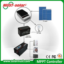 High efficiency 45A/60A DSP MPPT solar charge controller