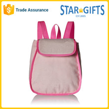 OEM Polyester Lovely Cute Light Girls Pink School Student Unique Book Bag