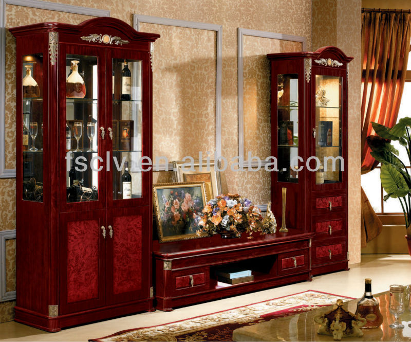 Cheap Wholesale Luxury India Furniture Living Room Modern Design Wooden Led Tv Cabinet With