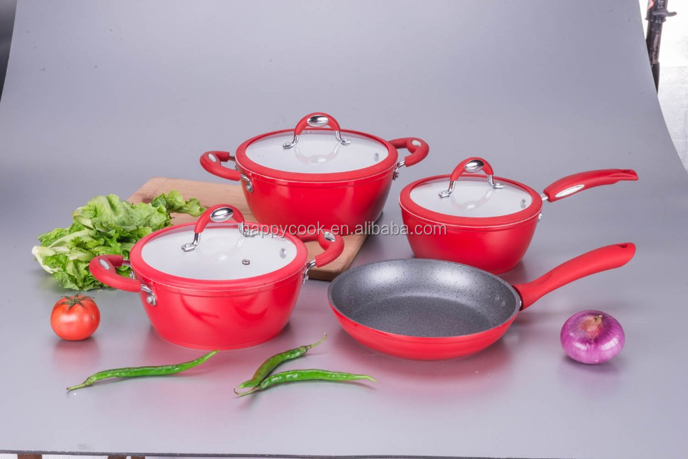 High quality aluminium ceramic pots for cooking