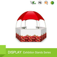 Printed Pop Up 3mx3m outdoor advertising event dome tent