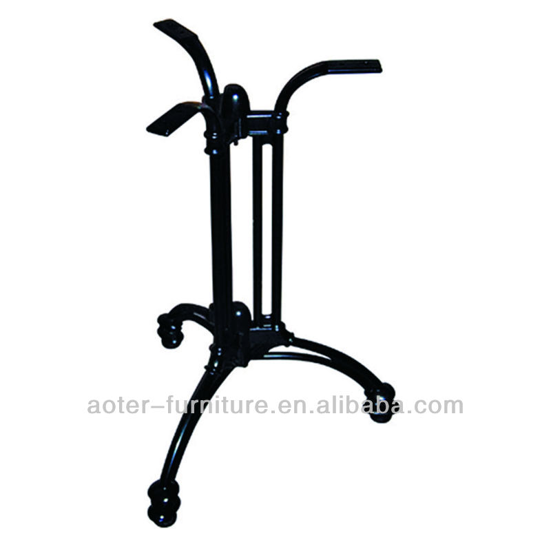 Outdoor furniture parts restaurant metal dining table legs