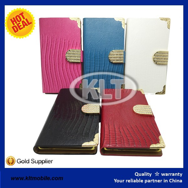 leather flip cover for LG G flex optional colors PU leather case for LG phones with package for wholesale