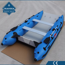 CE Certificate Inflatable hypalon Catamaran