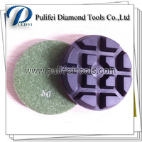 Stone Concrete Terrazzo Floor Diamond Grinding Polishing Tool of Metal Bond and Resin Material Polishing Pad for Floor Finishing