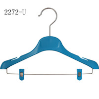 No slip adjustable Kids new fashion plastic hanger for clothing