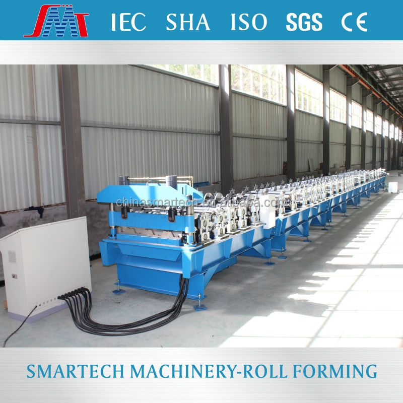 China SMT YGA320 Long Span Decking Cold Roll Forming Machine