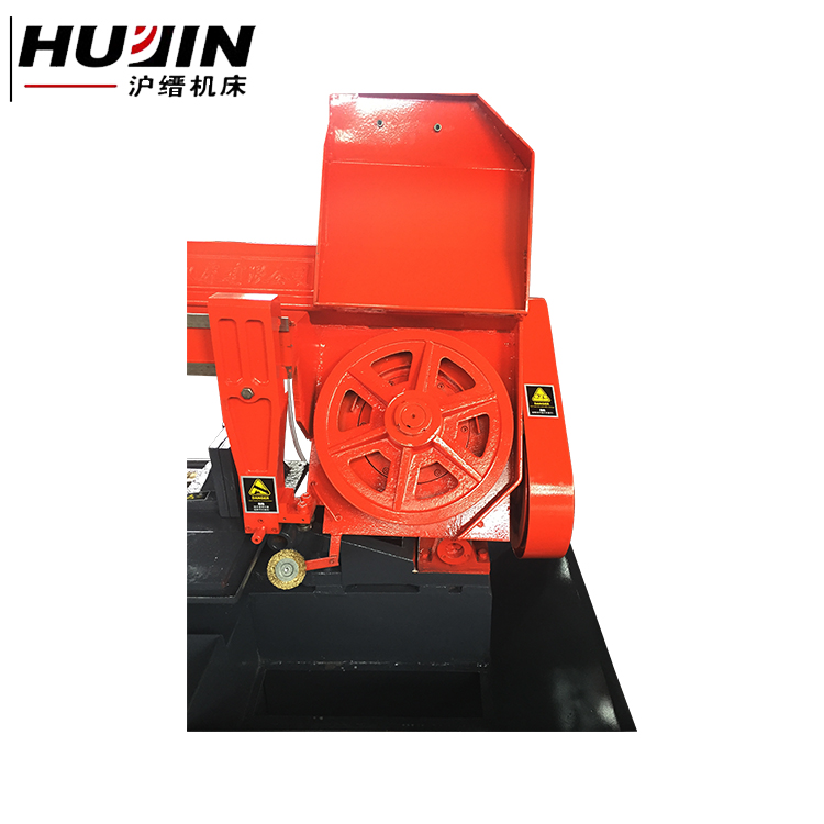 Automatic band saw metal hydraulic cutting machine