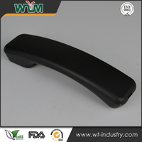 high quality black texture telephone receiver part plastic injection mould