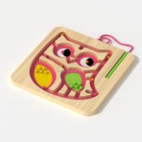 2915 new owl series wooden maze toys