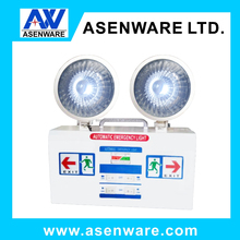 220V led lights twin spots led exit sign emergency light