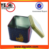 custome clear packaging box candy chocolate use with transparent PVC window