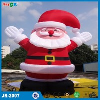 2015 christmas decoration 20ft christmas inflatable santa claus