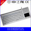 Super Slim Touchpad Silicone Medical Keyboard for Hospital and Clinic