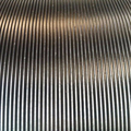 Top grade V-Grooved Ribbed Rubber Matting corrugated Rubber Flooring