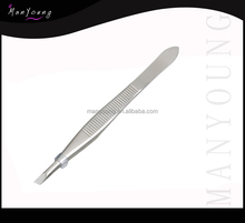Slant Tweezer, Stainless Steel, Eyebrow Shaping/ beauty care instruments