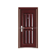 cheap metal door metal exterior security main steel door