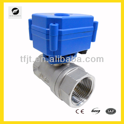 2 way motorized valve, safety ball valve 3v 6v 12v 24v 110v 220v for water heater, water control