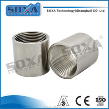 stainless steel hydraulic hose fitting crimped ferrule