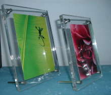 Acrylic picture frame for wholesale